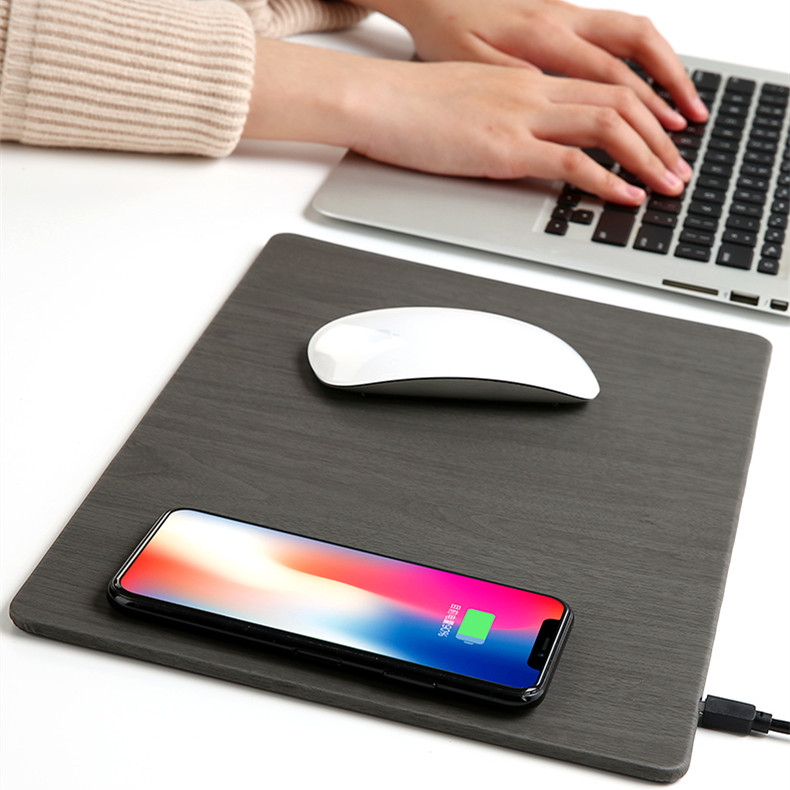 mouse pad fast wireless charger