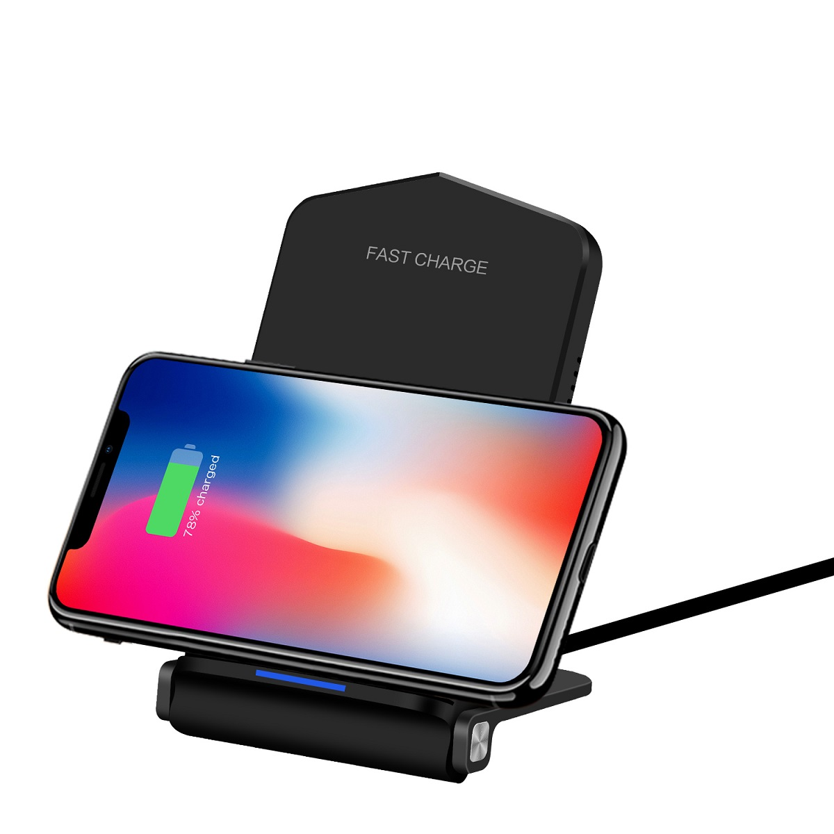foldable fast wireless charger W868